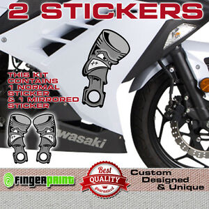 Gloss Black Motorcycle Superbike Sticker Decal Pack Waterproof for Kawasaki ZX-12R