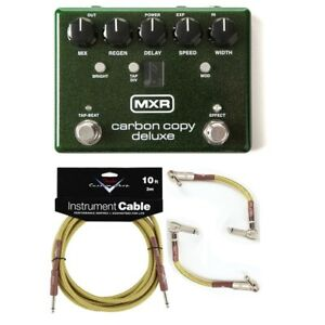 New MXR M292 Carbon Copy Deluxe Analog Delay Guitar Effects Pedal