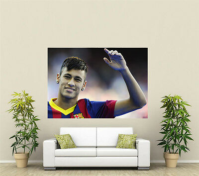 Neymar Brasil /& Barcelona Giant 1 Piece  Wall Art Poster SP255