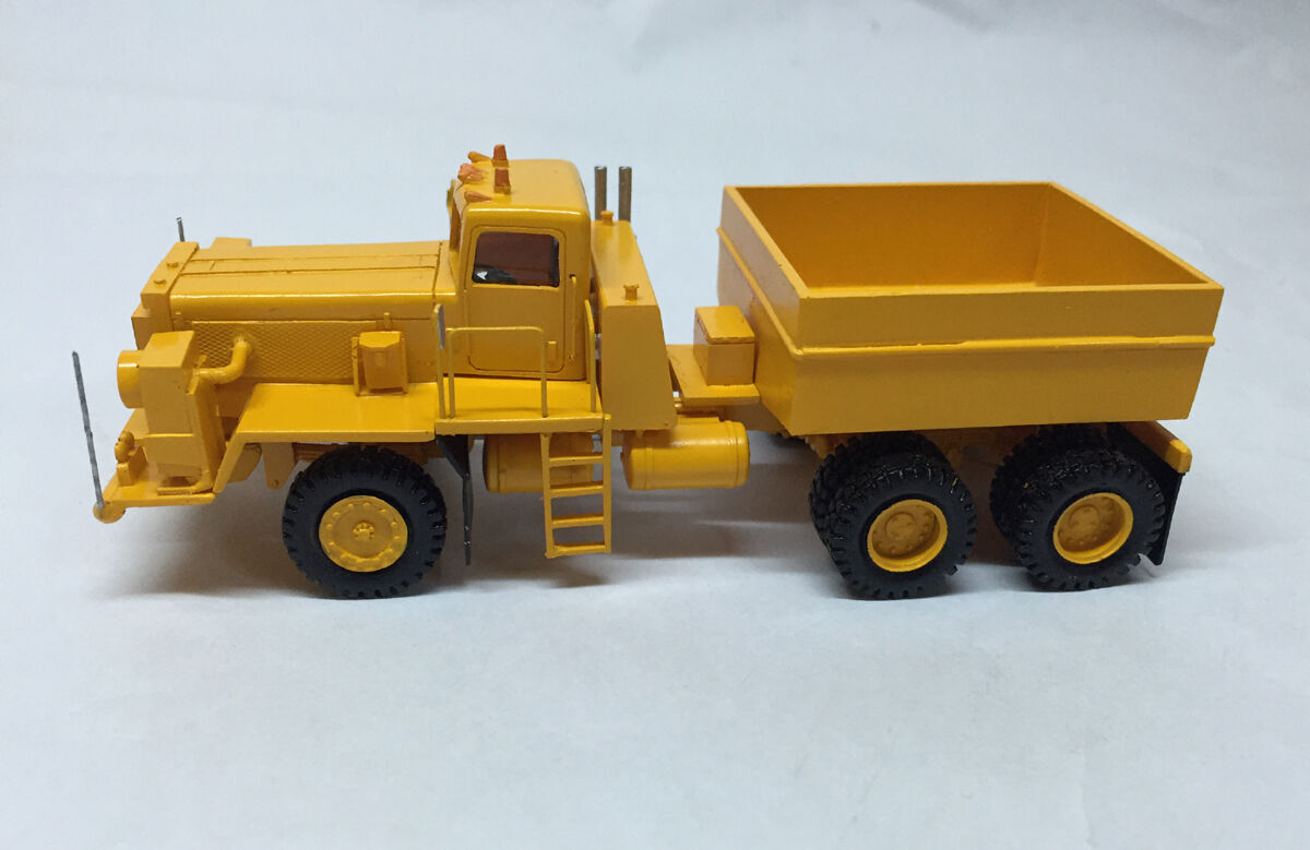 HO 1 1 1 87 Pacific P12W 6x4 Prime Mover - Ready Made Resin Model 7b3761