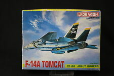 YL026 DRAGON 1/144 maquette avion 4506 400 F-14A Tomcat VF-84 Jolly Rogers F14A