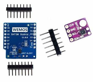 Mini SHT30 I2C Digital Temperature Humidity Sensor Module For WeMos D1
