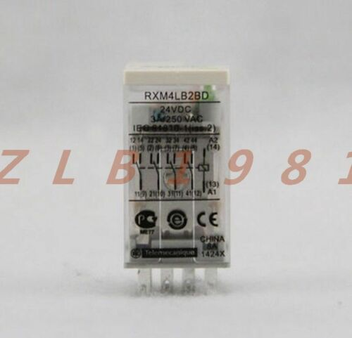 ONE NEW Schneider Small relay RXM4LB2BD 24VDC