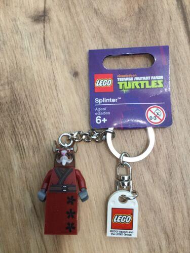 BNWT Lego TNMT Splinter Keyring