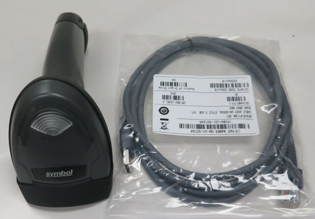 Zebra Symbol LI2208-SR Corded 1D Handheld Barcode Scanner/Imager ...