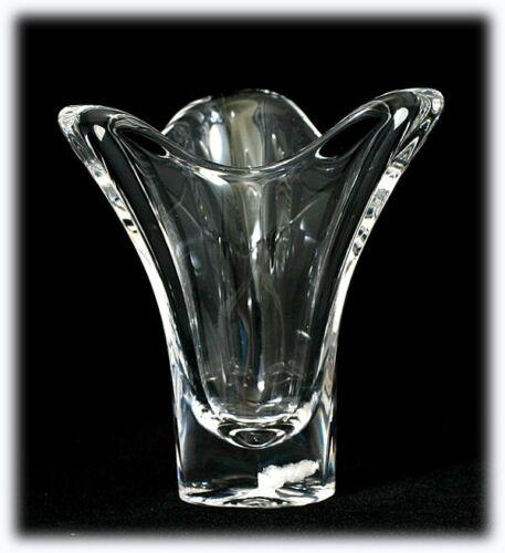 Shop Cheap Maasricht Royal Leerdam Crystal Vase Vintage Art Glass