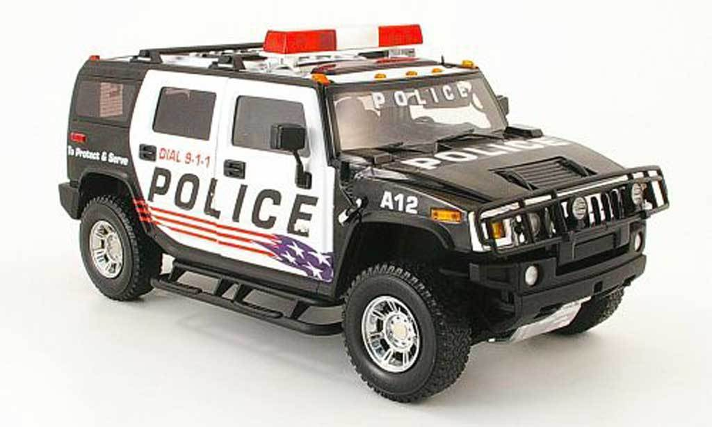 HUMMER H2 POLICE VERSION SPECIAL EDITION 1 18 Scale HIGHWAY 61 RARE NEW IN BOX