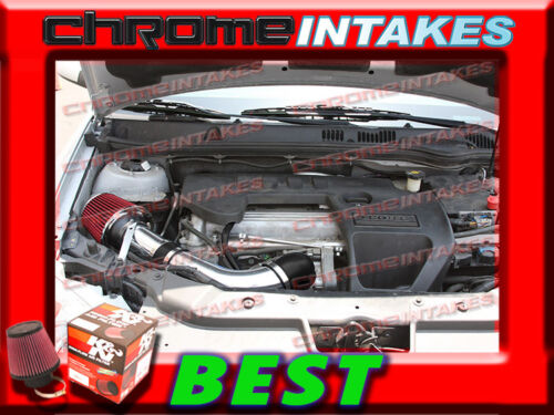 K/&N+BLACK RED 06 07 08-10//2006-2010 PONTIAC G6 G 6 2.4 2.4L I4 FULL AIR INTAKE