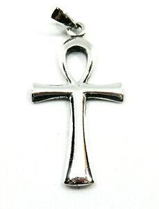 aegyptisches-Kreuz-Anch-Ankh-Anhaenger-925-Silber-mit-Silberkette-Lederband-Neu