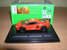 Welly Lamborghini Aventador LP700-4 / LP 700-4 dunkelorange Metall, 1:87 H0