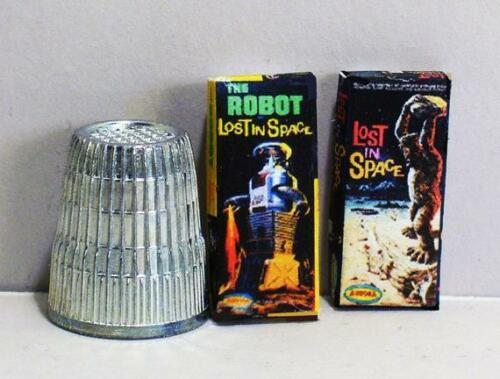 Lost In Space Robot and Cyclops Dollhouse Miniature 1:12 Aurora Model Box Set