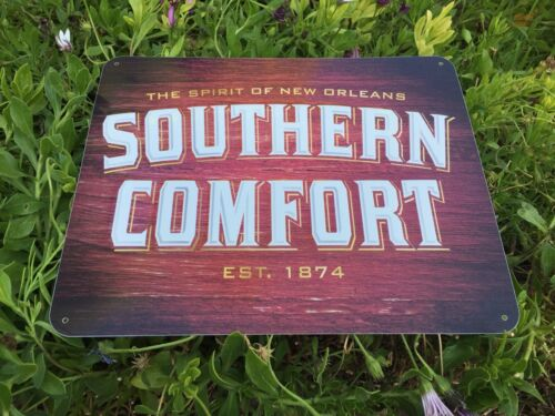 Southern Comfort Tin Embossed  Bar Sign 11X14 Inch The Spirit Of New Orleans La