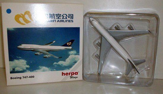 HERPA 1 500 - 511261 BOEING 747-400 - MANDARIN AIRLINES