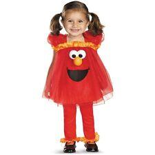 Elmo Costume Baby Toddler Sesame Street Halloween Fancy Dress  sc 1 st  eBay & OPENBOX Disguise Girls Sesame Street Frilly Light up Elmo Costume 2t ...