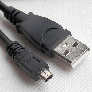 D5500 D750 Cámaras D5300 UC-E6 Cable de sincronización de datos USB para Nikon D3300 D7200