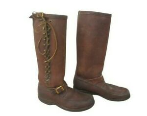 VTG GOKEY Sauvage Snake Proof Boots BULL HIDE Engineer Motorcycle Boss St. Paul