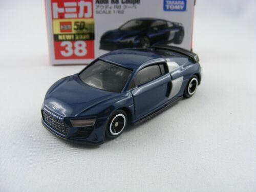 1//62 Takara Tomy Tomica #38 Audi R8 Coupé in blau