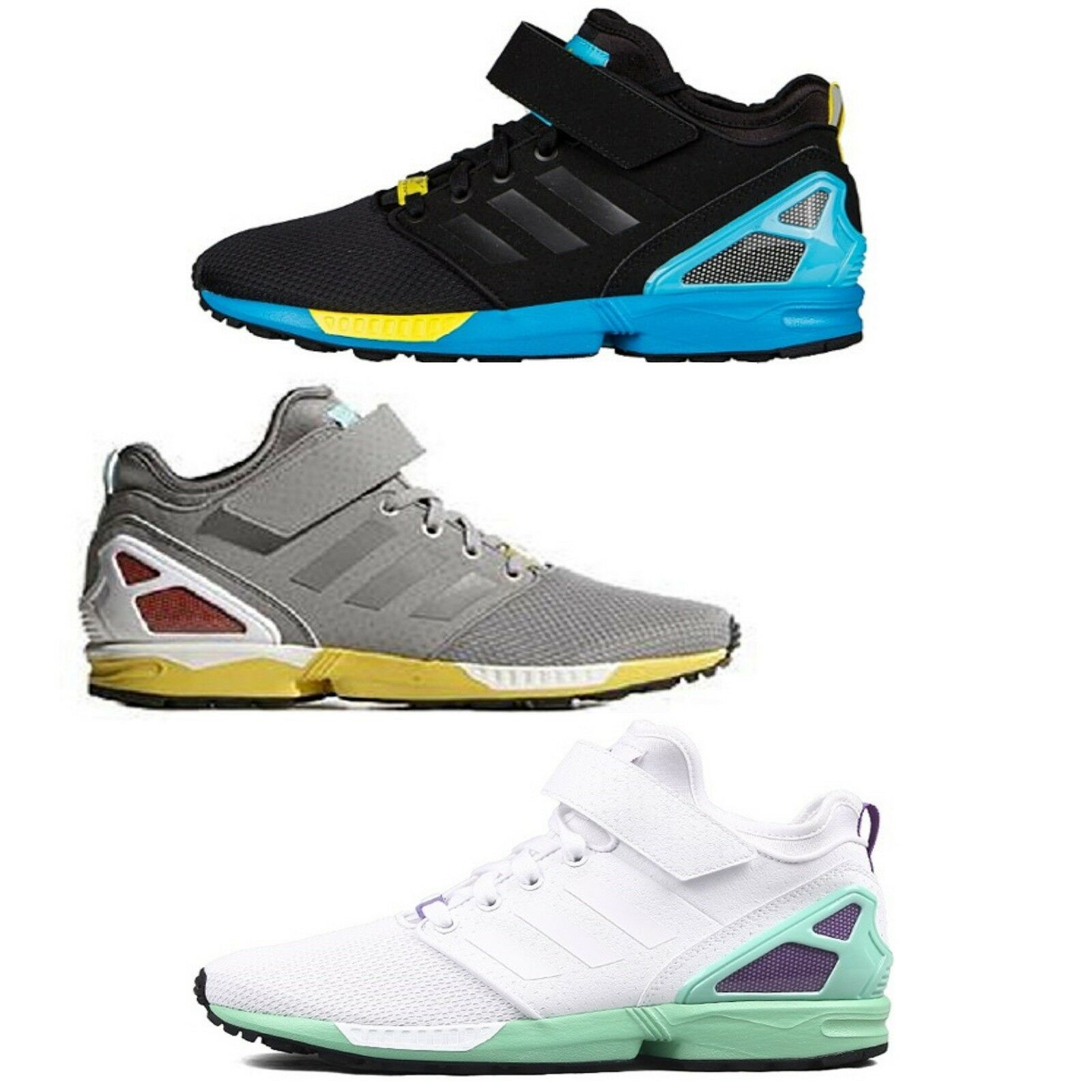 ADIDAS TORSION ZX FLUX NPS MID 8000 40 -49 NY 700 750 9000 adiren