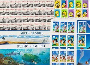 U.S. Discount Postage - $ 36.00 - Complete panes - see scan