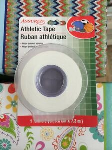 ATHLETIC-CLOTH-TAPE-1-1-2-In-x-8-Yd-Roll-Sports-Bandage-Ankle-Wrist-Finger-Wrap