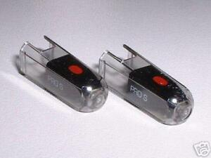 Ortofon PRO S schwarz Ersatznadel NEU Doppelpack NEW PROS DJ-Nadel-Paar Stylus