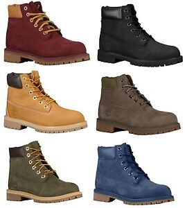 Timberland-6-034-PREMIUM-WATERPROOF-BOOTS-Boys-039-Grade-School-Youth-GS-Kids-Boots