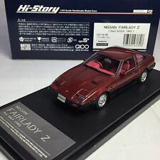 1/43 Hi-Story Nissan Fairlady Z 2 by 2 300 ZX Z 31 (1983) Red HS176RE