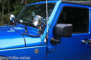 2007-2017 Jeep JK Wrangler Dual Antenna /& CB Radio MOUNTING Kit ~ fits