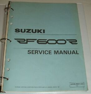 1994-1995-1996-SUZUKI-RF600R-RF-600-600R-Service-Repair-Manual-amp-Parts-Guide