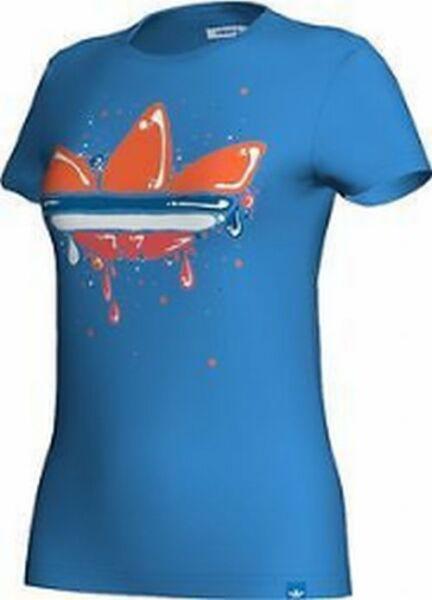 GLOSSY TREFOIL TEE V33709 Originals Damen T-Shirt