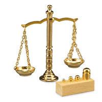 Reutter Porzellan Pharmacy Scales Brass Scale Weights 1:12 Dollhouse 1.636/5