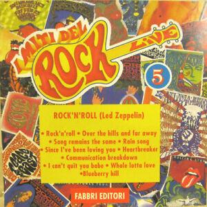 I-MITI-DEL-ROCK-n-5-LED-ZEPPELIN-034-ROCK-039-N-039-ROLL-034-cd-promo-Italy-mint