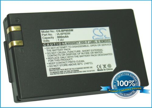Reino Unido Batería Para Samsung Vp-d381 Ia-bp80w 7.4 v Rohs