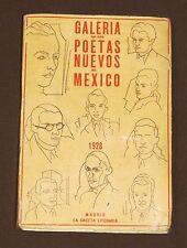 Anthology Mexican Poets Madrid 1928 Gabriel García Maroto Maples Arce Mexico