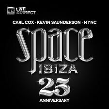 Carl/Saunderson Cox-SPACE IBIZA 2014-25th Anniversary closing Edition 3 CD NUOVO