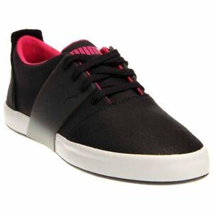 92394f15387a0d Details about Puma El Ace III Lo Dip Dye Sneakers - Black - Mens