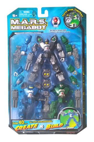 Ensemble neuf sous emballage megabot figurine Créer et développer votre propre M.A.R.S