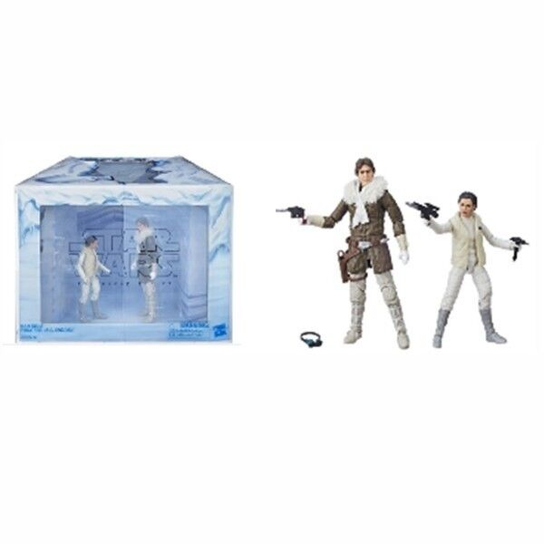 Star Wars The schwarz Séries Hoth 2 Pack Han & Leia Convention Excl Nouveau
