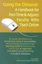 Going the Distance: A Handbook for Part-Time & Adjunct Faculty Who Teach Online