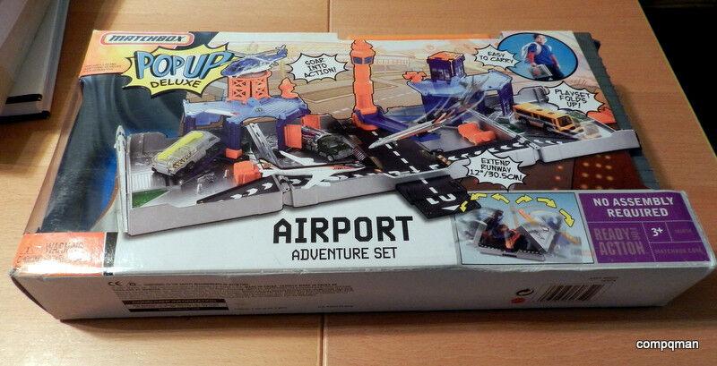 venta al por mayor barato Matchbox Pop Pop Pop Up Aeropuerto De Lujo Juego De Aventura Mattel 2007 Caja Abierta Envío Gratis  Venta al por mayor barato y de alta calidad.