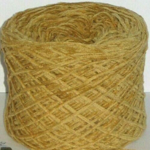 50g bolas Palamino Amarillo 4 capas 100/% algodón tejido de lana hilados de chenilla Terciopelo