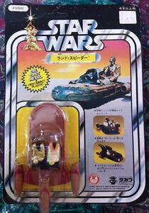 Vintage Star Wars japonais Takara 1978 Diecast Land Speeder Moc 12 Retour