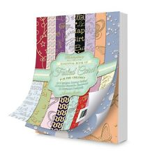 """Hunkydory ESSENTIAL BOOK OF FOILED CARD 7x 5"""" 40 Sheets FOR CHILDREN EBK112"""