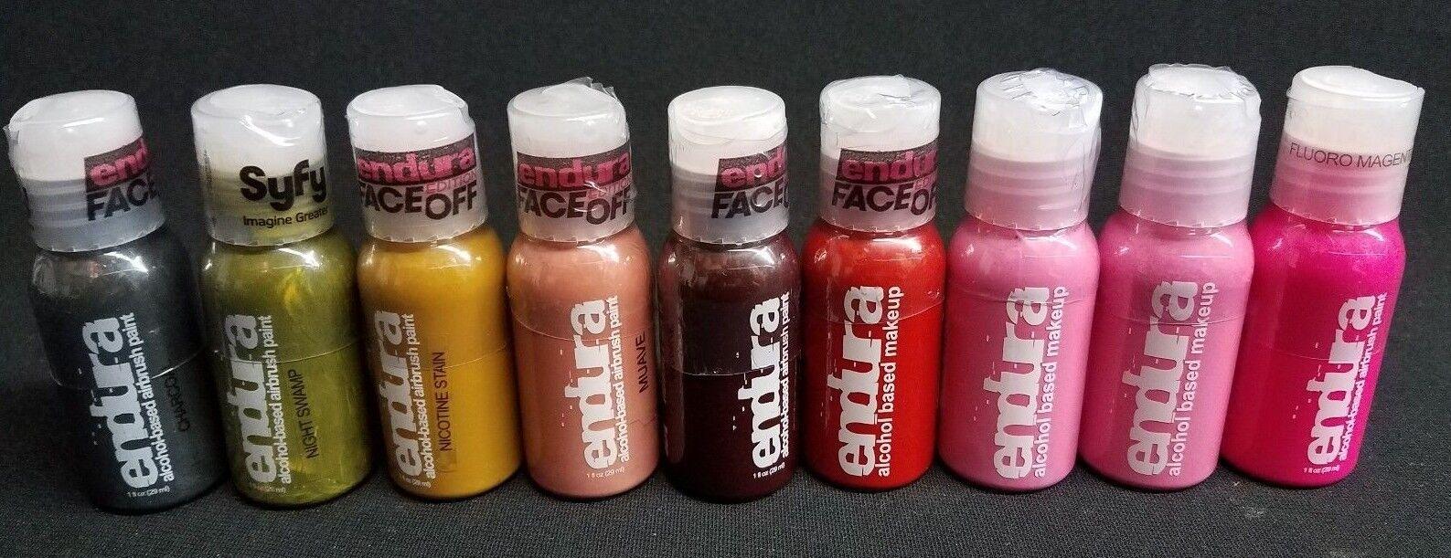 European Body Art Zerog Ii Airbrush Airgun With 6 Color Cartidges Makeup Set For Sale Online Ebay