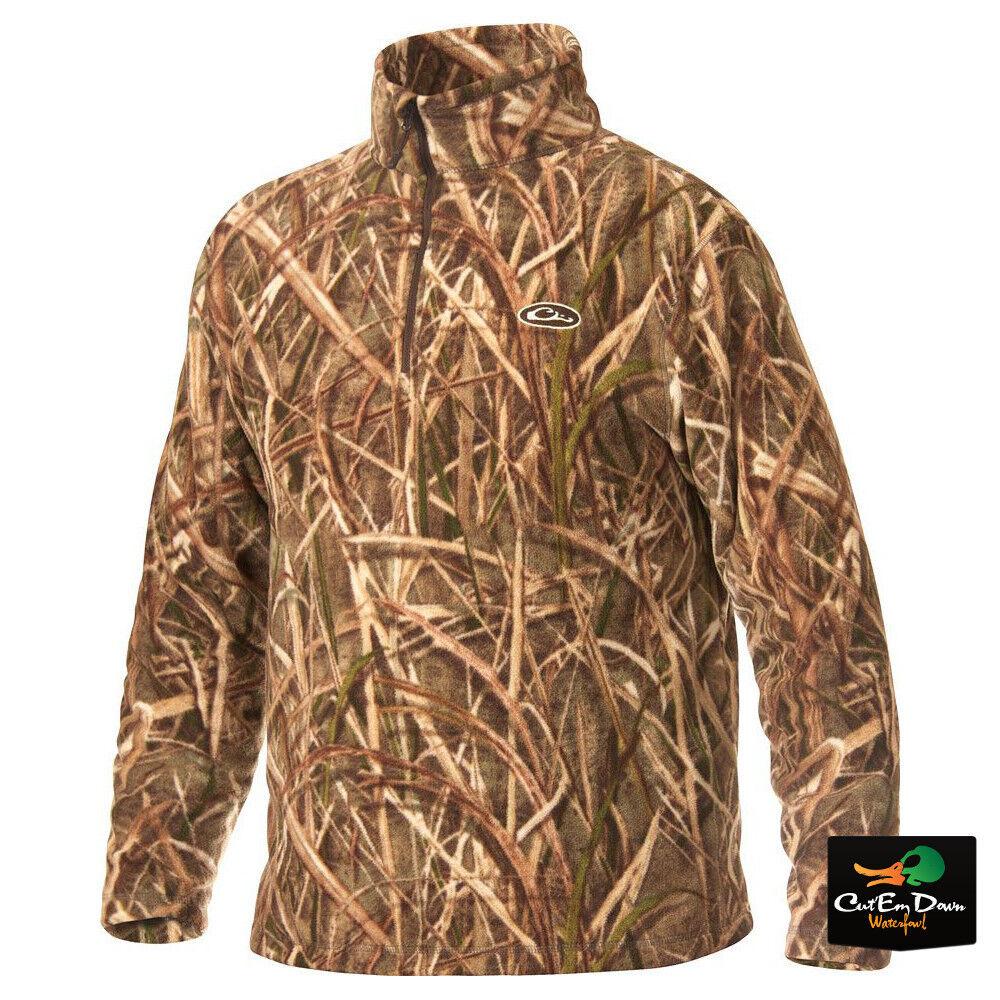 Drake Waterfowl Systems MST campamento Suéter Lana Shadow Grass Blades Camo Pequeño