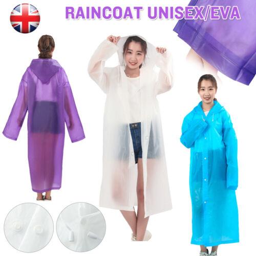 Women Lady Hooded Poncho Raincoat Wind Water proof Jacket Rain Coat Mac Outdoor