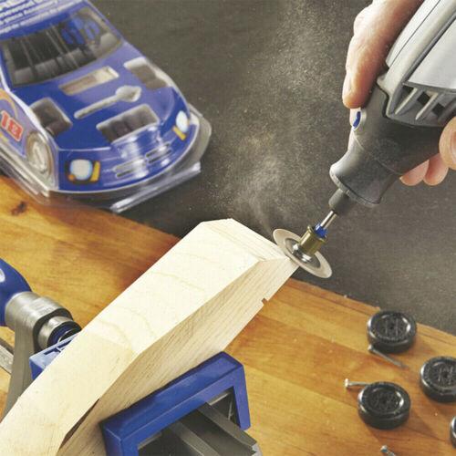 30x Diamond Cutting Wheel Saw Blades Cut Off Discs Set for Dremel Rotary Tool