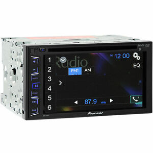 pioneer avh 290bt double din bluetooth in dash dvd car. Black Bedroom Furniture Sets. Home Design Ideas