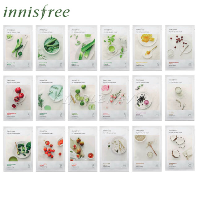 My Real Squeeze Mask - Rice by innisfree #22