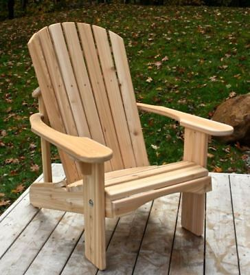Classic Cedar Adirondack Chair   Handmade By Ozark Mountain Furniture